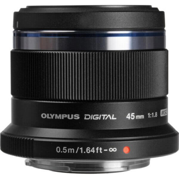 Olympus M.Zuiko 45mm F1.8 Black 2