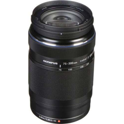 Olympus M.Zuiko 75-300mm F4.8-6.7 ED II Black 1