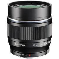 Olympus M.Zuiko 75mm f1.8 Digital ED Black 1