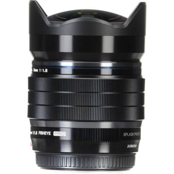 Olympus M.Zuiko 8mm f1.8 PRO Fisheye 4