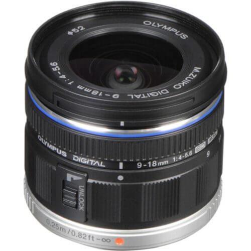 Olympus M.Zuiko 9-18mm F4-5.6 Digital ED 1