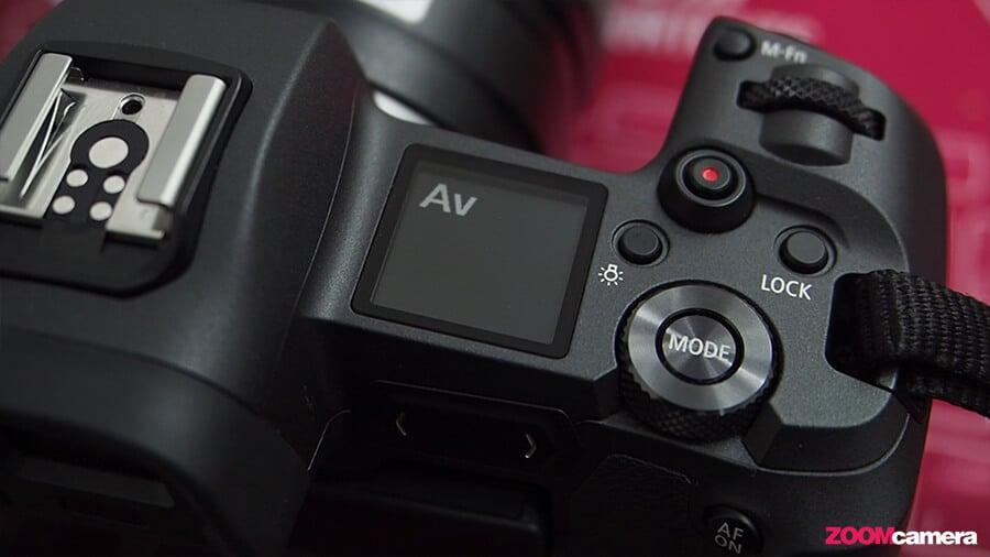 Canon EOS R Dial Mode