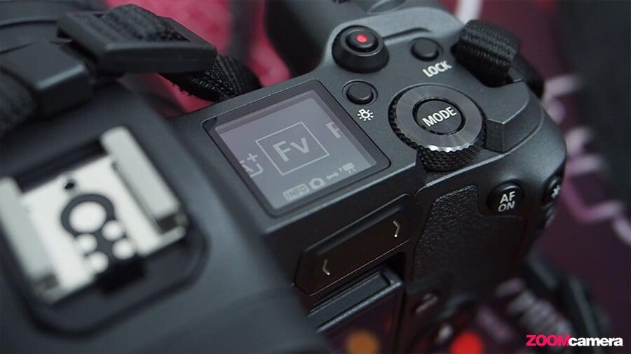 รีวิว Canon EOS R FV Mode
