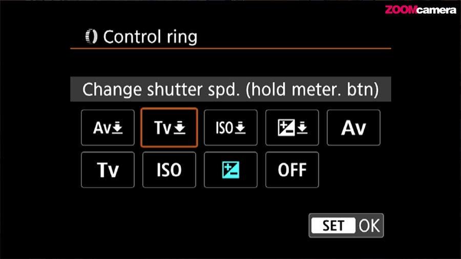 รีวิว Canon EOS R control ring 2