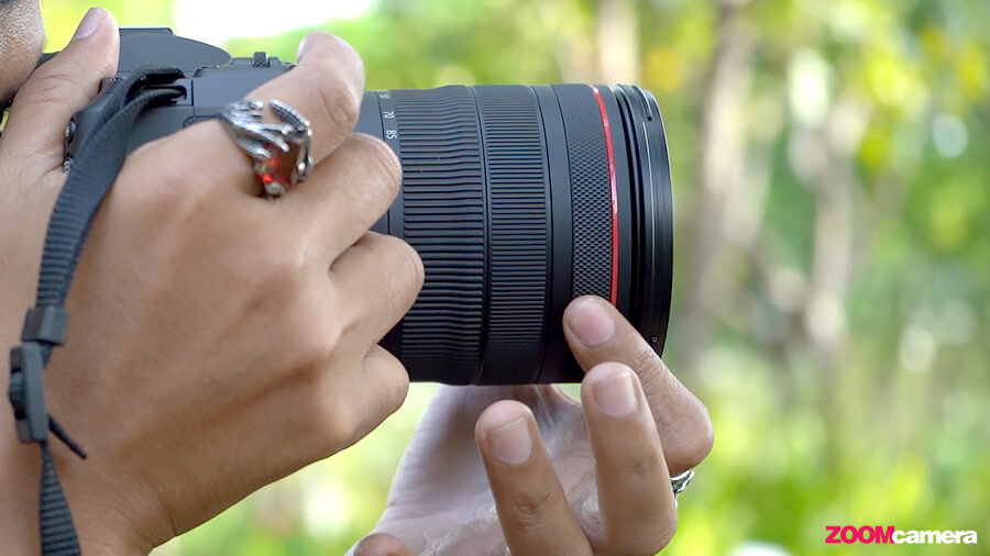 รีวิว Canon EOS R control ring