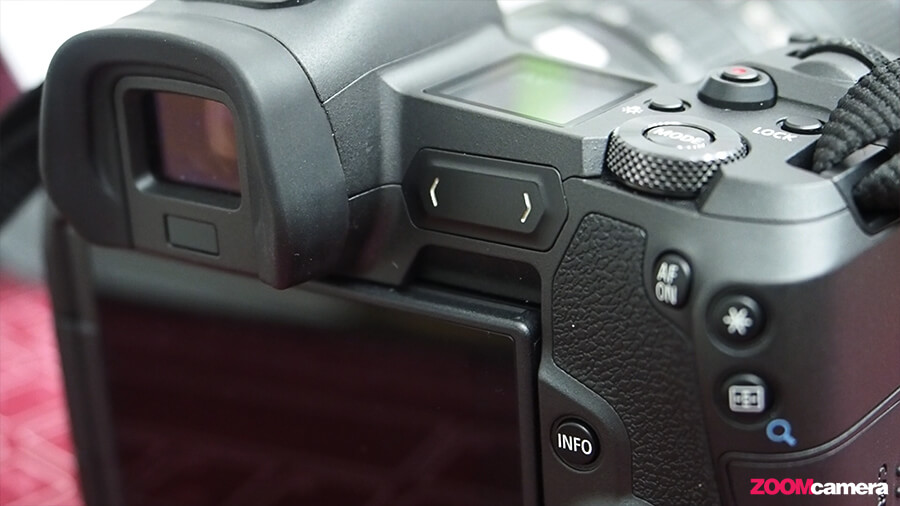 Canon EOS R multi function Bar