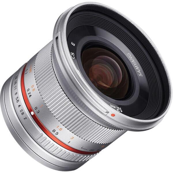 2Samyang 12mm F2 for Fuji X Mount silver