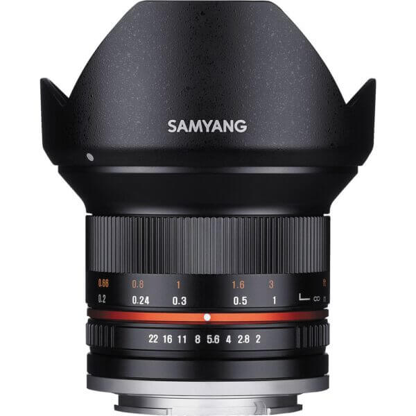 3Samyang 12mm F2 for Fuji X Mount Black Thai