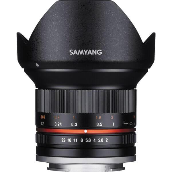 3Samyang 12mm F2 for M43 Black ประกันศูนย์