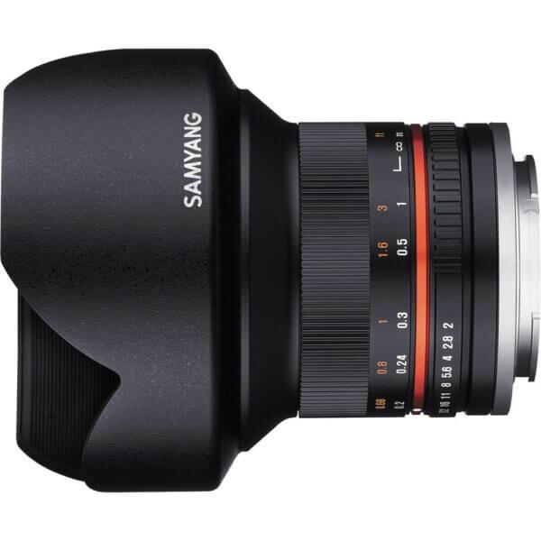 4Samyang 12mm F2 for M43 Black ประกันศูนย์