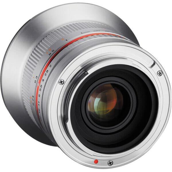 5Samyang 12mm F2 for Fuji X Mount silver