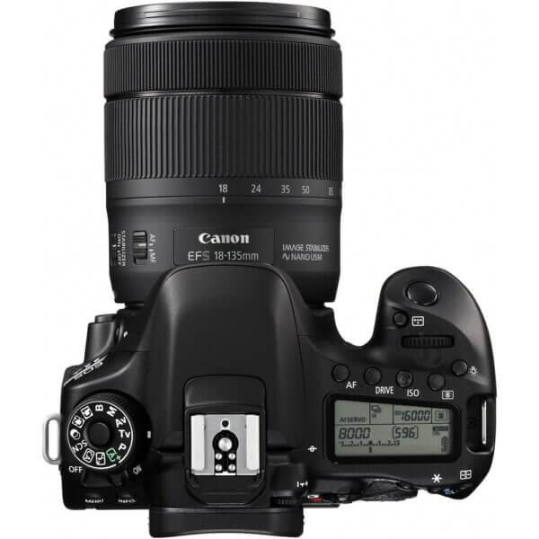 Canon EOS 80D Kit 18 135 USM P 13