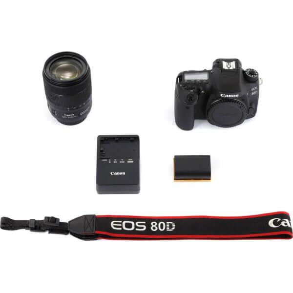 Canon EOS 80D Kit 18 135 USM P 18