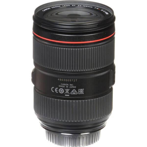 Canon Lens EF 24 105mm F4L IS II USM Kit P 12