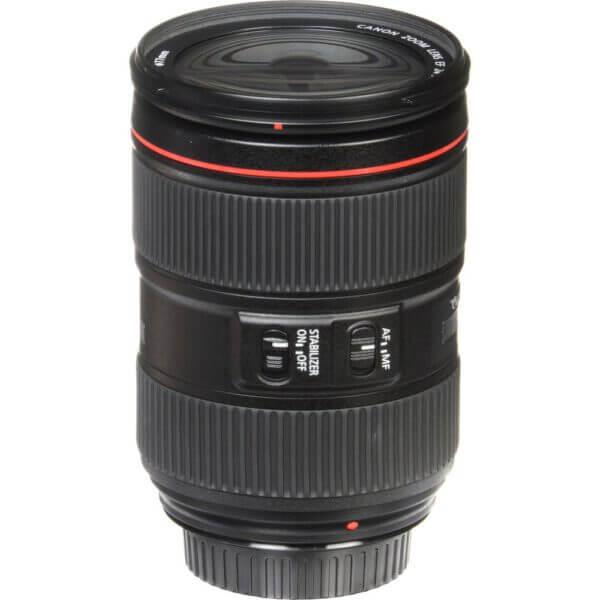 Canon Lens EF 24 105mm F4L IS II USM Kit P 13