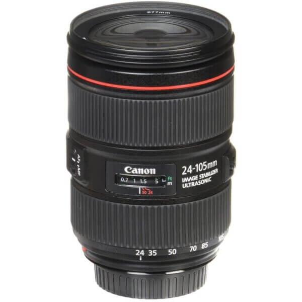 Canon Lens EF 24 105mm F4L IS II USM Kit P 14