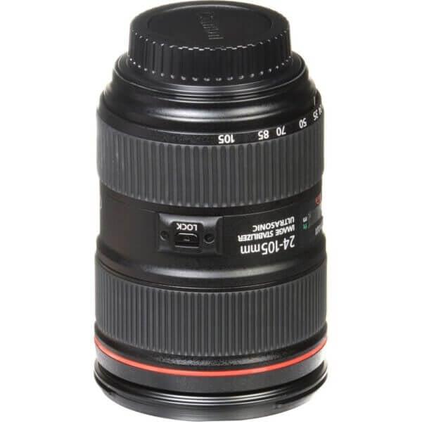 Canon Lens EF 24 105mm F4L IS II USM Kit P 18