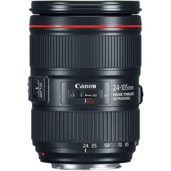 Canon Lens EF 24 105mm F4L IS II USM Kit P 2