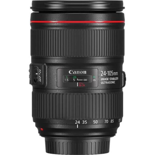 Canon Lens EF 24 105mm F4L IS II USM Kit P 4