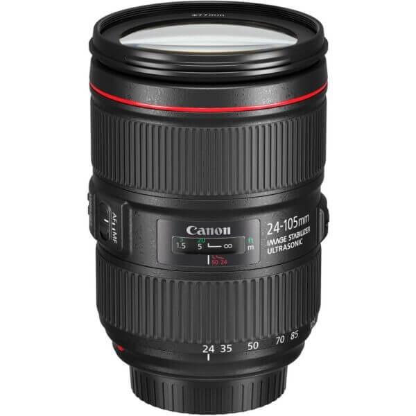Canon Lens EF 24 105mm F4L IS II USM Kit P 5
