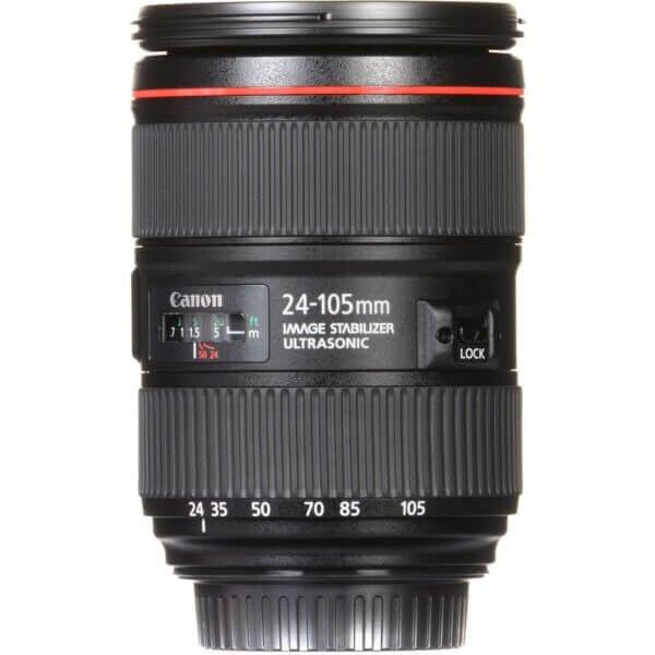 Canon Lens EF 24 105mm F4L IS II USM Kit P 7