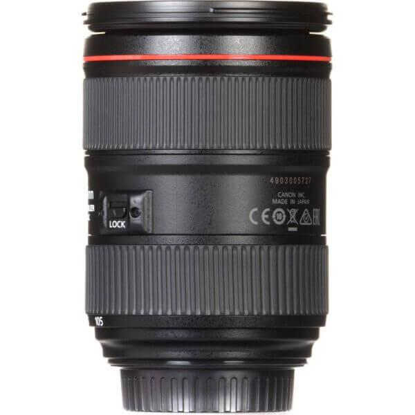 Canon Lens EF 24 105mm F4L IS II USM Kit P 8