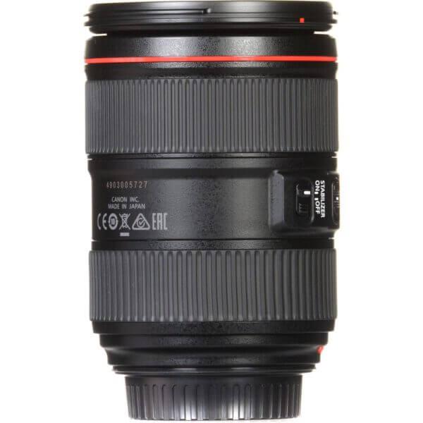 Canon Lens EF 24 105mm F4L IS II USM Kit P 9