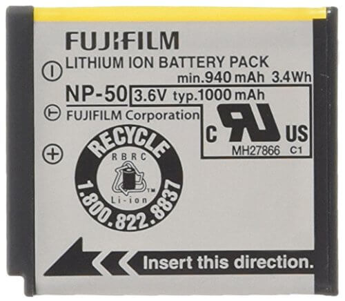 Fujifilm Battery NP 50 No box 4