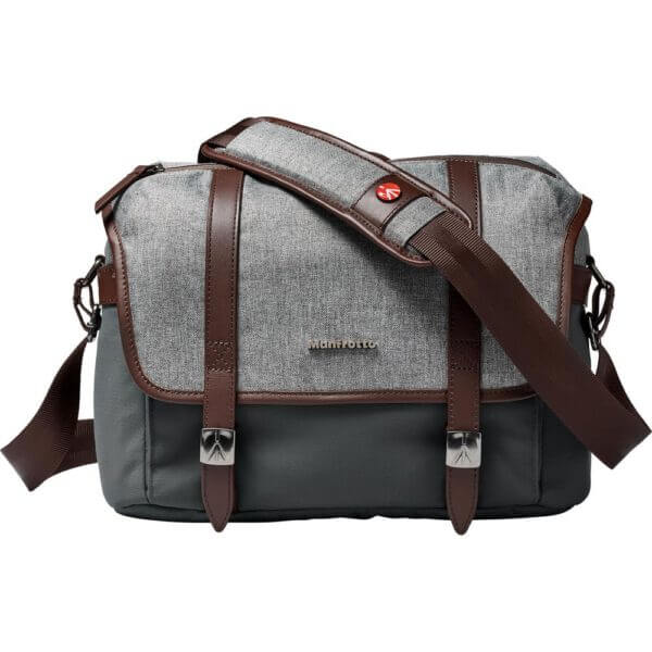 Manfrotto LF WN MS Windsor Messenger Bag S Gray 2