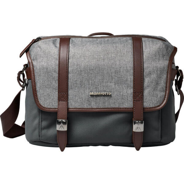 Manfrotto LF WN MS Windsor Messenger Bag S Gray 3