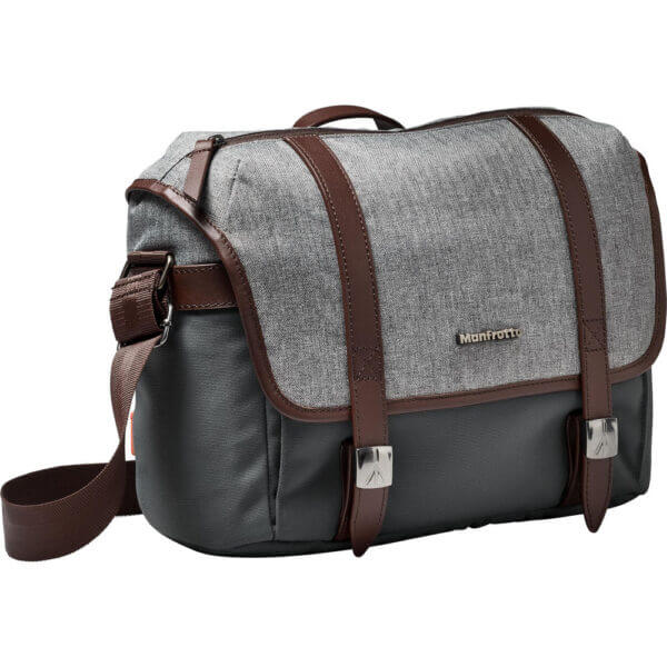 Manfrotto LF WN MS Windsor Messenger Bag S Gray 4
