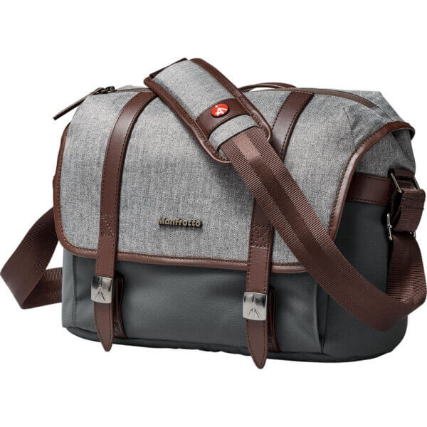 Manfrotto LF WN MS Windsor Messenger Bag S Gray 5