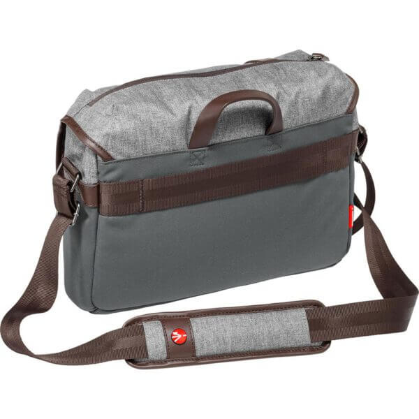 Manfrotto LF WN MS Windsor Messenger Bag S Gray 6