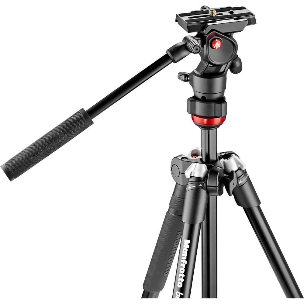 Manfrotto MVKBFR LIF Befree Live Video Tripod Kit with Case 2