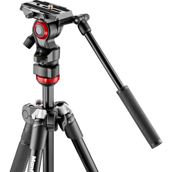 Manfrotto MVKBFR LIF Befree Live Video Tripod Kit with Case 3