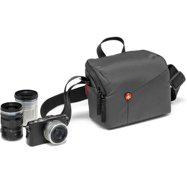 Manfrotto NX SB IGY 2 NX Shoulder Bag CSC Grey V2 สีเทา 6