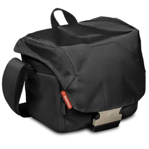 Manfrotto SSB 2BBK Bella II Shoulder Bag Stile Black 1