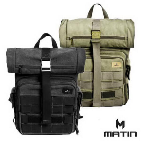 Matin M 09754 Rolltop 270 Black 04