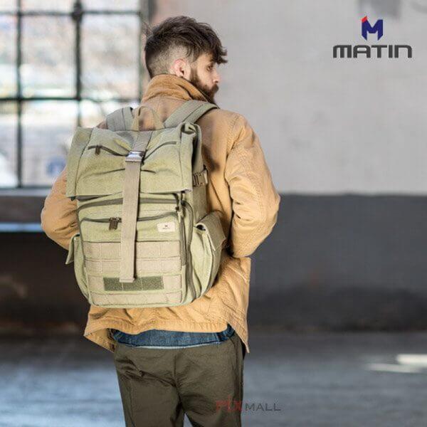 Matin M 09755 Rolltop 270 Green 04