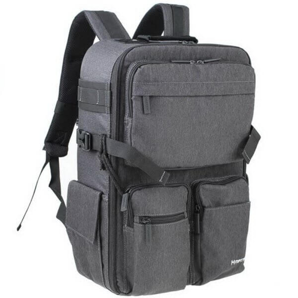 Matin M 10080 Clever 250 Camera Backpack Grey 03