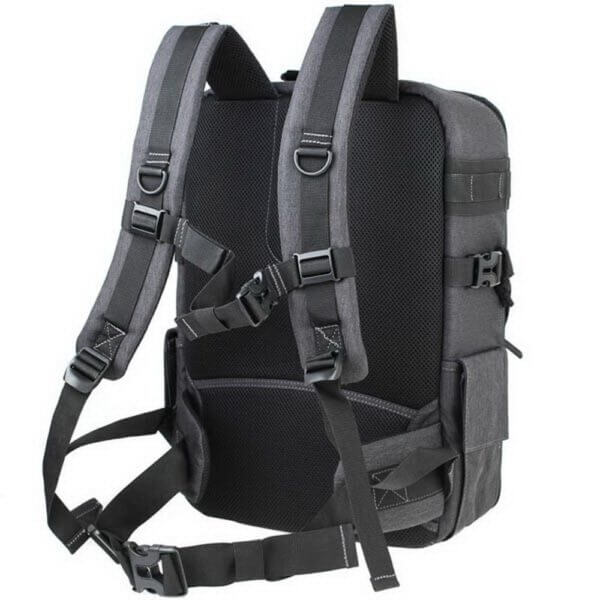 Matin M 10080 Clever 250 Camera Backpack Grey 04
