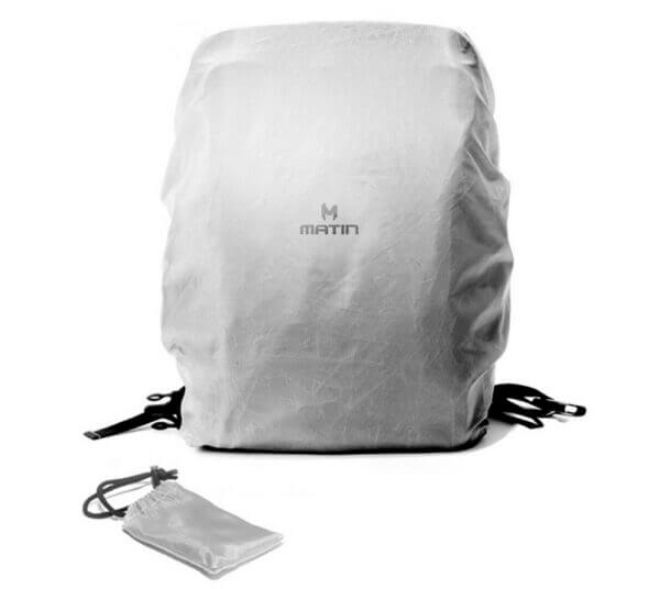Matin M 10080 Clever 250 Camera Backpack Grey 06
