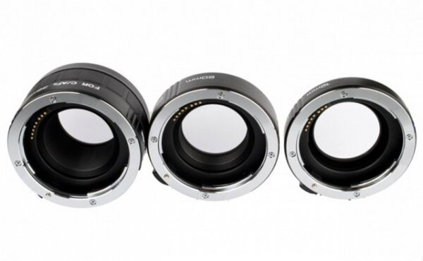 Meike Auto Extension Tube A Set 3pcs for Canon metal mount 05