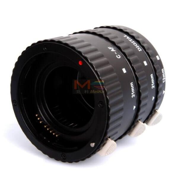 Meike Auto Extension Tube B Set 3pcs for Canon 1