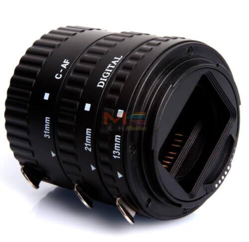 Meike Auto Extension Tube B Set 3pcs for Canon 2