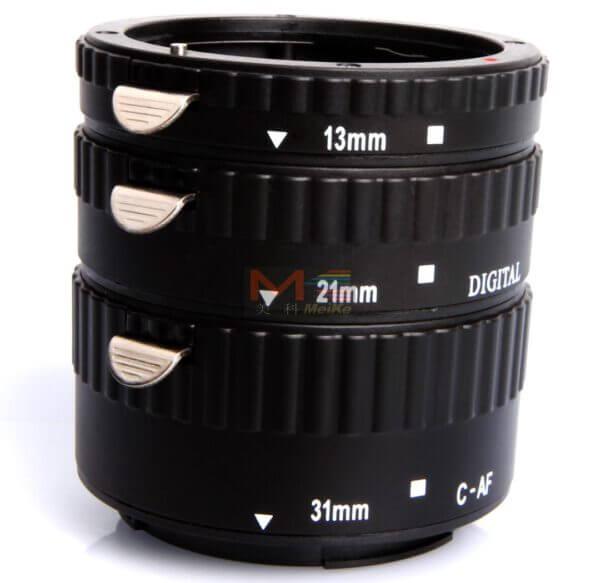 Meike Auto Extension Tube B Set 3pcs for Canon 4