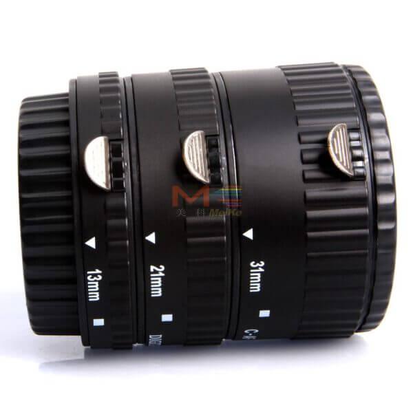 Meike Auto Extension Tube B Set 3pcs for Canon 5