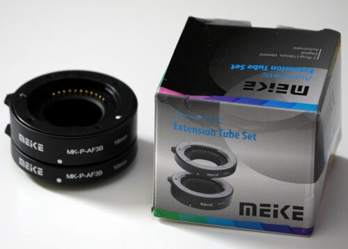 Meike Automatic Extension Tube Plastic Mount for Micro 43 P 1