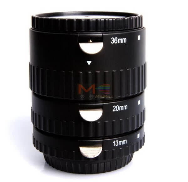 Meike Automatic Extension Tube Plastic Mount for Sony Nex P 02