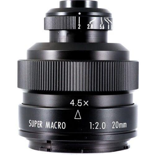 Mitakon Lens 20mm F2 Super Macro 4.5X for Canon ประกันศูนย์ 1
